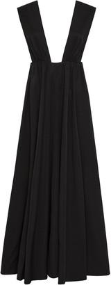PARIS GEORGIA Camille Plunging V-Neck Sleeveless Maxi Dress