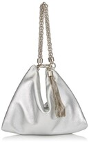 Jimmy Choo Medium Metallic Callie Clutch Bag
