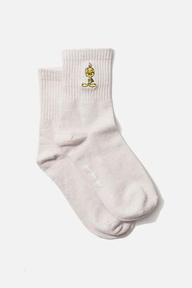 Rubi Fine Rib Sports Sock