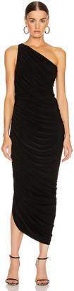 Norma Kamali Diana Gown in Black | FWRD
