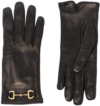 Gucci Horsebit-Embellished Gloves