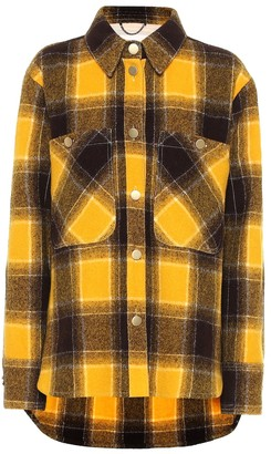 Dorothee Schumacher Colorful Check virgin wool jacket