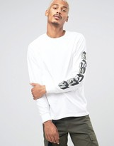 Stussy Long Sleeve T-shirt With Sleeve Print