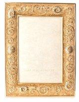 "Jay Strongwater Flower Scroll Frame, 4"" x 6"""