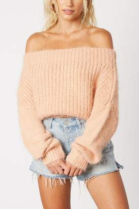 Cotton Candy Juicy Apricot Sweater