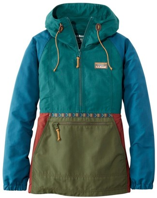 L.L. Bean Women's Mountain Classic Anorak, Multi-Color