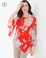 Chico's Contemporary Floral Tunic