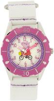 Peppa Pig White Hour & Minute Watch