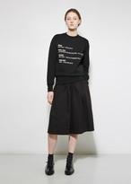 Yang Li Oversized Shorts