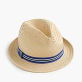 J.Crew Kids' straw trilby hat
