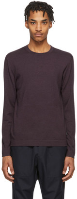 Ermenegildo Zegna Purple Knit Crewneck Sweater