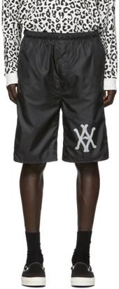 Vyner Articles Black Nylon Shorts