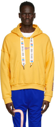 Reebok by Pyer Moss Yellow Drawstring Hoodie