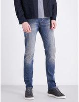 Paul Smith Mens Light Blue Concealed zip Jeans