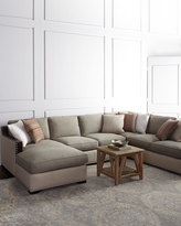 Horchow Clayton Three-Piece Sectional