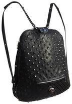 Smooth & Embossed Calfskin Convertible Backpack