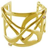 "Joan Hornig Matisse"" Moonstone Cuff Bracelet"