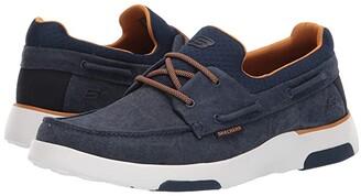 Skechers Bellinger - Garmo (Navy) Men's Lace up casual Shoes