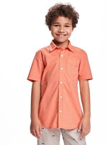 Old Navy Classic Poplin Shirt for Boys