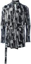 Damir Doma 'Jackson' coat - men - Cotton/Linen/Flax/Acrylic/Virgin Wool - XS