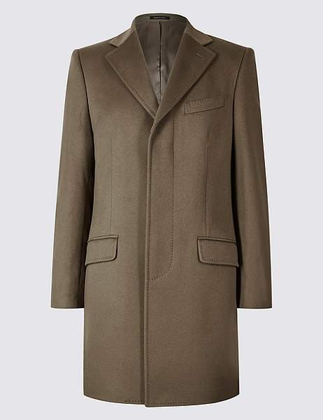 Marks and Spencer Pure Cashmere Revere Coat