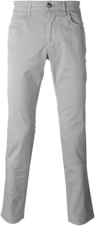Fay slim fit trousers