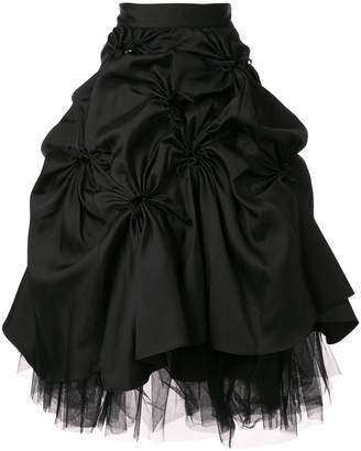 Shushu/Tong flared midi skirt