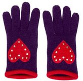 Moschino Wool & Angora Knit Gloves