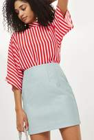 Topshop High waisted mini skirt