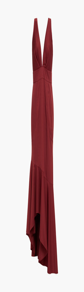 Sachin + Babi Asymmetric Ruffled Ottoman Gown