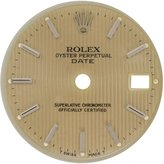 Rolex Date 79240 20mm Tapestry Dial for 24mm Case Women's Watch Models