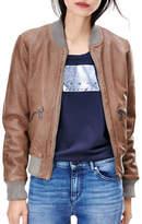 Liebeskind Leather Bomber Jacket