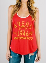 Junk Food Clothing Nfl San Francisco 49ers Tank-licorice/sugar-l