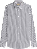 Burberry Seaford Striped Cotton Shirt