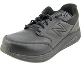 New Balance Ww928 D Round Toe Leather Walking Shoe.
