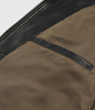 AllSaints Castle Leather Jacket