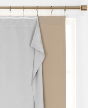 """Elrene SunVeil Extra Wide Thermal Blackout Curtain Liner, 40""""x80"""""""