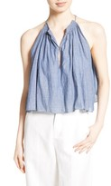 Apiece Apart Women's Galisteo Chambray Swing Top