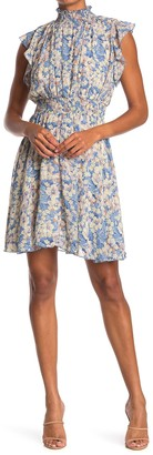 MelloDay Smock Floral Print Dress