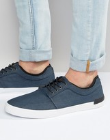 Call It Spring Mesman Chambray Plimsolls