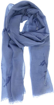 Joy Susan Accent Scarves - Periwinkle Bird Scarf