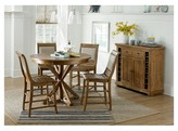 Progressive Willow Pine Round Counter Dining Table - Distressed Pine