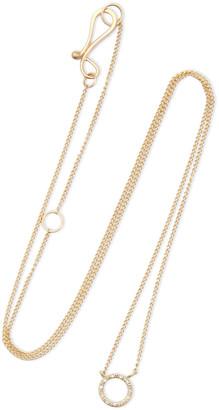 Melissa Joy Manning 14-karat Gold Diamond Necklace