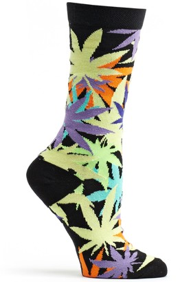 Ozone Womens Laced Weed Sock
