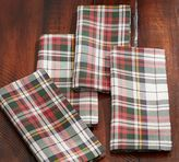 Pottery Barn Denver Plaid Napkin, Set of 4