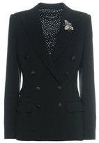 Dolce & Gabbana Embellished virgin wool jacket