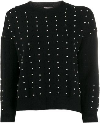 Jovonna London Leticia embellished jumper