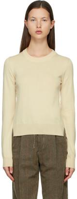 Maison Margiela Off-White M Logo Sweater
