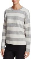 Eileen Fisher Reversible Stripe Top