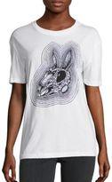 McQ by Alexander McQueen Classic Rabbit Skull Tee